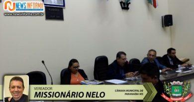30.a Sessão da Câmara Municipal de Paranaíba MS