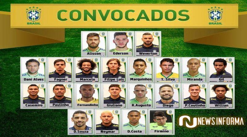 Nove jogadores do Brasileirão são convocados para seleção sub-23