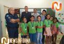 Paranaíba: PM realizou formatura de alunos do Proerd no distrito de São João do Aporé.