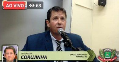 43.a Sessão Ordinária da Câmara Municipal de Paranaíba MS