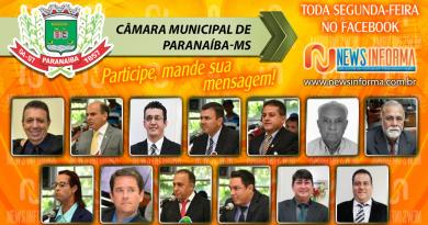 50.a Sessão Ordinária da Câmara Municipal de Paranaíba MS