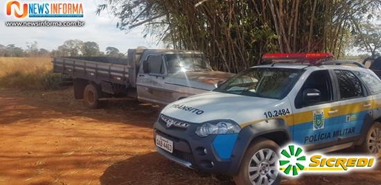 Polícia Militar recupera caminhão furtado em Paranaíba