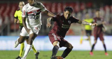 São Paulo empata com River Plate no Morumbi