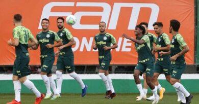 Escalação do Palmeiras: Mayke retorna em treino antes de receber o Grêmio