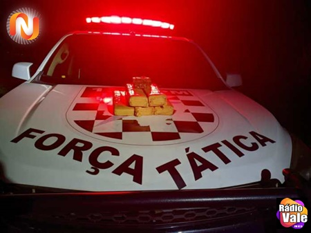 Paranaíba: PM e Civil prendem autor de tráfico de drogas e apreende quase 8 quilos de drogas.