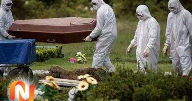Covid-19: país tem 2,9 mil mortes e 95,3 mil casos em 24 horas