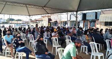 Paranaíba centraliza vacinação contra a COVID-19 no Carnaíba