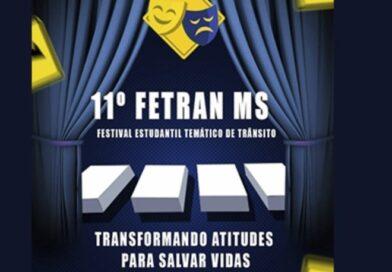 Paranaíba participará do 11º Festival Estudantil Temático de Trânsito – FETRAN-MS
